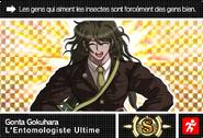 Danganronpa V3 Bonus Mode Card Gonta Gokuhara S FR