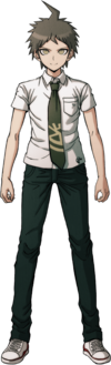 Hajime Hinata Fullbody Sprite 15