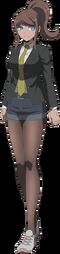 Danganronpa 3 - Fullbody Profile - Aoi Asahina