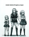 Danganronpa Kirigiri - Danganronpa Another Episode - Concept Art