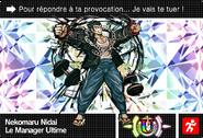 Danganronpa V3 Bonus Mode Card Nekomaru Nidai U FR