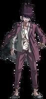 Danganronpa V3 Kaito Momota Fullbody Sprite (25)