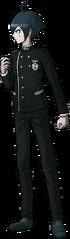 Danganronpa V3 Shuichi Saihara Fullbody Sprite (Debate Scrum) (2)
