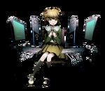 Divine Gate x Danganronpa 1.2 Chihiro Base Artwork