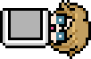 Byakuya Togami School Mode Pixel Icon (11)