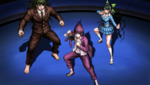 Danganronpa V3 CG - The students trying to protect Kaede Akamatsu from her execution (2)