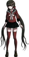 Danganronpa V3 Maki Harukawa Fullbody Sprite (7)