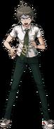 Hajime Hinata Fullbody Sprite 07
