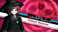 Danganronpa V3 Himiko Yumeno Introduction (Demo Version)