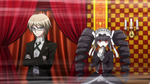 Danganronpa the Animation (Episode 05) - Discussion if Byakuya Togami is the culprit (40)