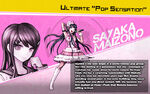 Promo Profiles - Danganronpa 1.2 (English) - Sayaka Maizono