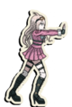 Danganronpa V3 Miu Iruma Death Road of Despair Sprite 06
