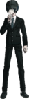 Danganronpa V3 Shuichi Saihara Fullbody Sprite (High School Uniform) (7)