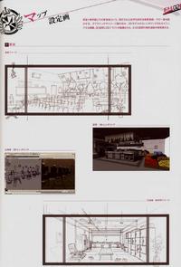 Danganronpa Visual Fanbook Set Design (01)