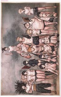 Danganronpa Visual Fanbook Bonus Art 02