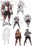 Sakura Ogami Beta Designs Visual Fanbook