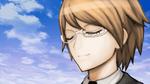 Danganronpa Another Episode - CGs - Byakuya smiling