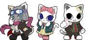 Danganronpa Namjatown Event 2014 - Mascots