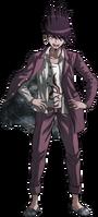 Danganronpa V3 Kaito Momota Fullbody Sprite (10)