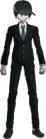 Danganronpa V3 Shuichi Saihara Fullbody Sprite (High School Uniform) (1)