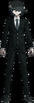 Danganronpa V3 Shuichi Saihara Fullbody Sprite (High School Uniform) (1)