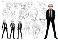 Byakuya Togami Beta Designs 1.2 Reload Artbook
