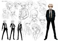 Byakuya Togami Beta Designs 1.2 Reload Artbook