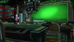 Danganronpa V3 CG - Kaede Akamatsu looking around the mysterious classroom