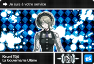 Danganronpa V3 Bonus Mode Card Kirumi Tojo N FR