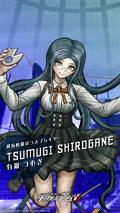 Digital MonoMono Machine Tsumugi Shirogane iPhone wallpaper