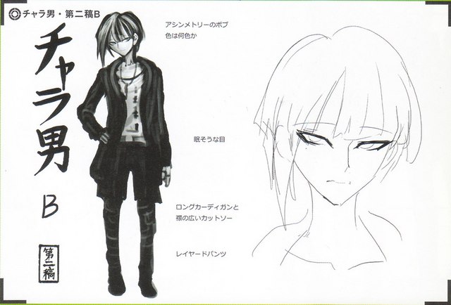 File:Art Book Scan Danganronpa V3 Character Designs Betas Rantaro Amami (2).png