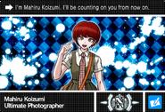 Danganronpa V3 Bonus Mode Card Mahiru Koizumi N ENG