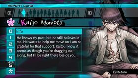 Kaito Momota Report Card Page 5 (For Shuichi)