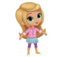 SHIMMER AND SHINE Leah