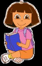 Dora with Book 2