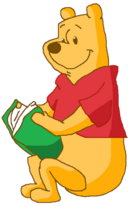 Winnie the Pooh with Book 3