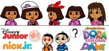 Dora y Dani Generations