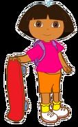 Dora with Skateboard 2
