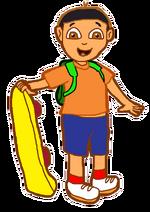 Dani with Skateboard 5