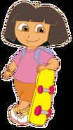 Dora with Skateboard 4