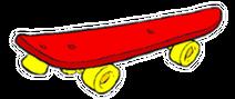 Mar's skateboard