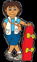 Diego with skateboard 4
