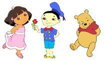 Dora, Dani y Pooh