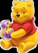 Pooh Bear sitting down