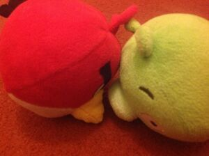 Red and pig