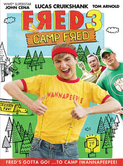 Fred 3 DVD cover