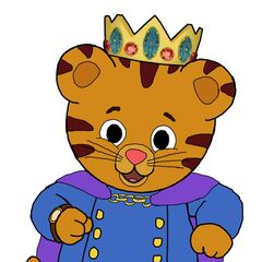 King Daniel Tiger of the Neighborhood of Make-Believe