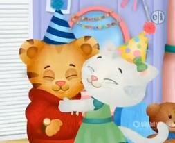 Katerina hugging Daniel