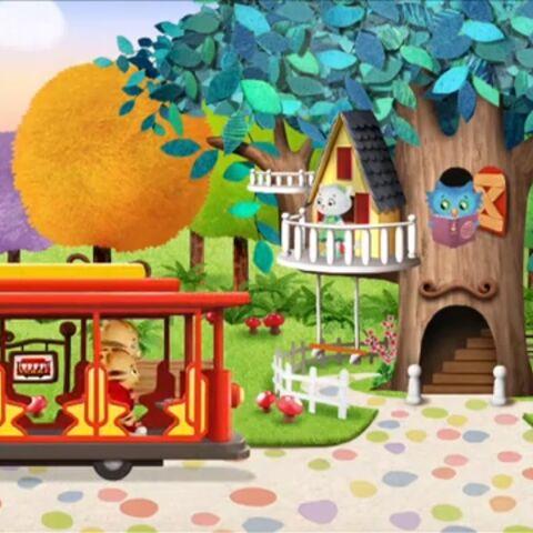Trolley in Daniel Tiger's Neighborhood.