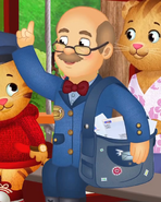 Mr. McFeely without hat